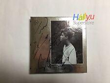 """EXO - """"Exodus"""" Autographed(Signed) Promo CD + Photocard"""