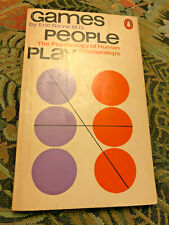 Games People Play, the Psychology Classic by Eric Berne, Paperback, 1971 Edition