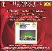 Debussy: Nocturnes; Printemps; Le martyre de Saint Sébastien, Daniel Barenboim,