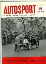 Autosport 1st de noviembre 1957 * Marruecos Grand Prix y cal Rock *