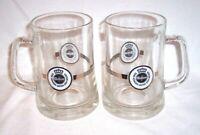 Warsteiner Brewery Germany 0.5L Glass Beer Stein Mug Tankard-Set Of 2