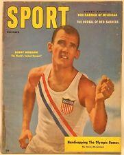 December 1956 Sport Magazine Bobby Morrow Cover Kyle Rote Paul Richards