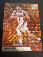 2019-20 Panini Mosaic Reactive Orange Prizm Devin Booker #128