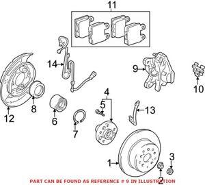 Genuine OEM Disc Brake Caliper for Lexus 4773030410