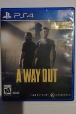 Way Out (Sony PlayStation 4, 2018) complete! videogame tested!