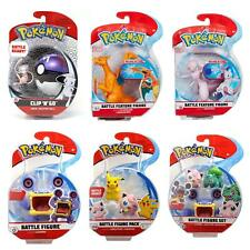 Pokémon Battle Action Figures - lizensierte Original Pokemon Figuren - Pokeball