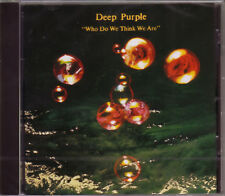 CD (NEU!) DEEP PURPLE Who do we think we are (dig.rem.+7/ Woman from Tokyo mkmbh