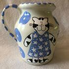 Lynn Morris Whimsical Kitty Cat Pitcher