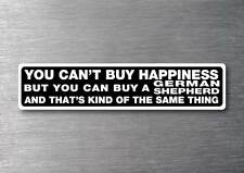 Buy a German Shepherd sticker quality 7 year water & fade proof vinyl