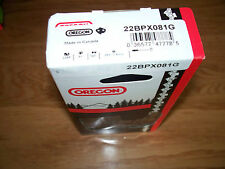 "1 Oregon 22BPX081G 20"" chainsaw saw chain .325 .063 81 DL replaces  26RMC L81"