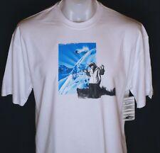 Bnwt Men's Oakley Hall ss Tee T Shirt Small New Skiing Snowboarding White