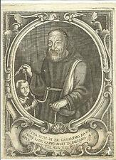 1700 ACQUAFORTE FRA GERONIMO GIROLAMO DA CORLEONE PALERMO SICILIA