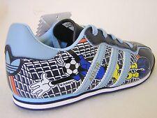 RARE~Adidas ADI TRAINER SOCCER GOOFY Disney superstar samba Shoes~TODDLERS sz 3K