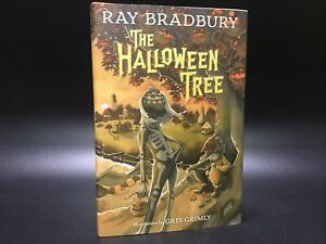 SIGNED The Halloween Tree - Ray Bradbury [Alfred A. Knopf 2015] Samhain