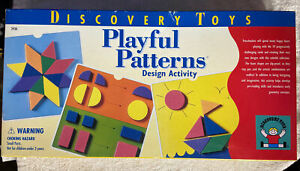 Discovery Toys Playful Patterns Activity Set (preowned)