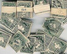 IRELAND 1922 MAP 2d...VINTAGE KILOWARE...500 stamps