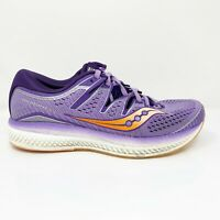 Saucony Womens Triumph ISO 5 S10462-37 Purple Running Shoes Lace Up Size 9