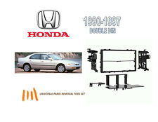 NEW 1990-1997 HONDA ACCORD Car Stereo Double DIN Dash Kit, with Tool Set