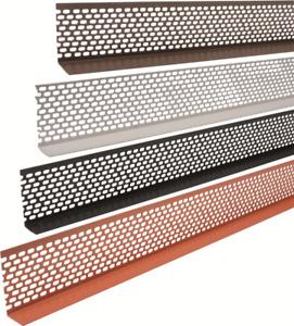 PROFI Lüftungsprofil PVC 2,5 - 50 m; 30, 50, 60, 70 oder 90mm hoch 30mmSchenkel