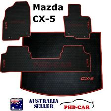Tailor Made all weather rubber floor mats+cargo tray/boot liner set Mazda CX-5