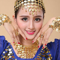 Noble Women Headwear Belly Dance Accessories Costume Dancing Sequins Hair Band
