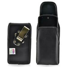 Kyocera Brigadier E6782  Holster Metal Belt Clip Case Pouch Leather Turtleback
