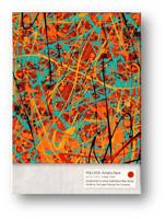 Pollock Artistry Playing Tarjeta Puente Póquer Juego de Cartas Cardistry
