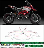 kit adesivi stickers compatibili hypermotard 821 sp 2015 full kit no paint