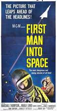 FIRST MAN INTO SPACE Movie POSTER 20x40 Marshall Thompson Marla Landi Bill