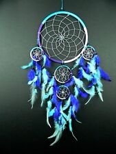 Dream catcher Large Pink Purple Turquoise Silver Dreamcatcher Girls Boys 22x50
