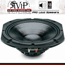 "18 Sound 10NDA520 10"" High Output Mid-Bass Neo Transducer 8 Ohm Peak Power 900W"