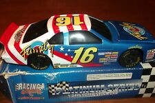 TED MUSGRAVE #16 FAMILY CHANNEL RACING COLLECTIBLES PLATINUM 1:24 SCALE BANK (93