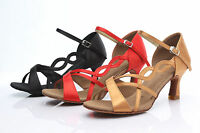 Professional Ballroom/Tango/Latin/Dance Shoes For Women Girl Ladies Heeled Salsa
