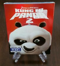 Dream Works Kung Fu Panda 2 Blu-ray + DVD with RARE Slipcover. Factory Sealed