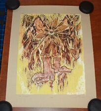 Black Keys Poster Phish Artist UNDER CONSTRUCTION Dan Grzeca Art Print S/# 95