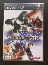 NanoBreaker (Sony PlayStation 2, 2005) PS2 Brand New Sealed