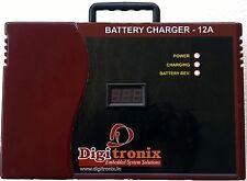 12v Lead Acid Battery Charger - CAR Bike & inverter battery charger - 12 amps