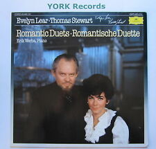 DG 415 448-1 - romántico dúos-Evelyn Lear & Thomas Stewart-ex con Disco Lp