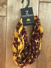 New! Zoozatz Minnesota Golden Gophers Plaid Infinity Scarf. $32.00 originally