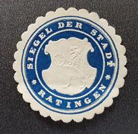 Siegelmarke Vignette SIEGEL DER STADT RATINGEN (8117-3)