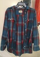 Ralph Lauren Denim & Supply Women's blue Flannel size Medium