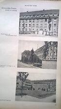1930 12 Leipzig Frauenklinik Universität Orthopädische Medizinische Klinik