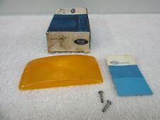 NOS 1958-1977 F-Series Pickup Bronco Parking Light Lamp Lens Amber w/Attach. dp