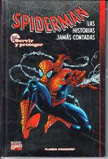 SPIDERMAN : LAS HISTORIAS JAMAS CONTADAS Nº 1 TAPA DURA.