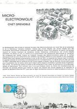 DOCUMENT PHILATÉLIQUE - YT 2126 - 1er JOUR 1981