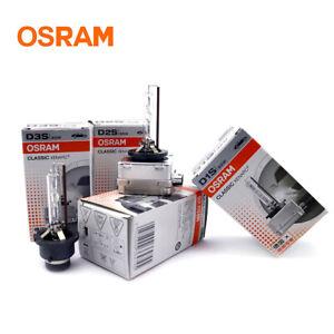 2x New Osram D3S Xenon Bulbs Set HID Head Light Lamp Headlamp 66340CLC PK32d-5