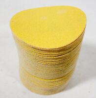 Rhodius Velcro Disques Grille 115x230 mm Papier Abrasif 50stk.