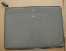 Anya Hindmarch Ipad Zipped Case Grey 29cm x 21cm - Good Used Condition