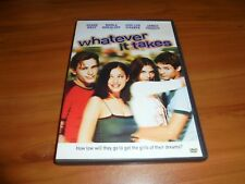 Whatever It Takes (DVD, 2000, Full Frame) Used James Franco,Shane West