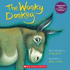 The Wonkey Donkey Paperback Book